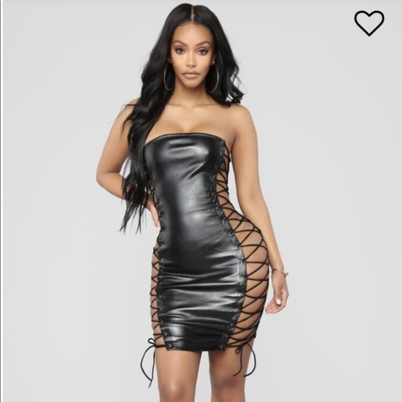 Vixen Fashion Nova Dress NWT